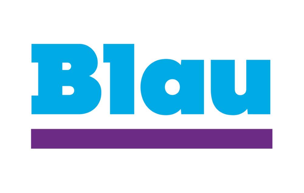 blau netzabdeckung